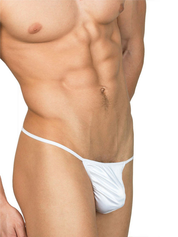 Men's Satin Thong Underwear
