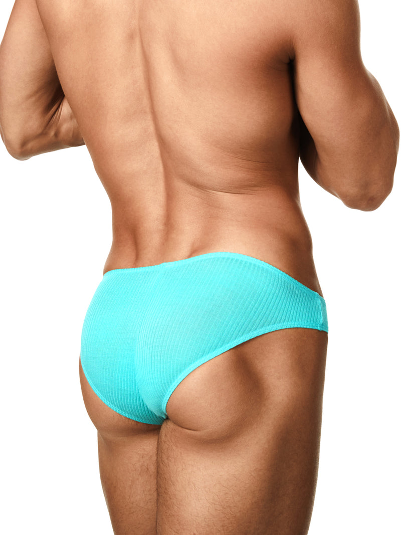 Men's Soft Ribbed Bikini Briefs