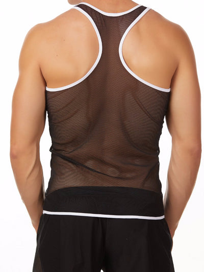Men's Mesh Athletic Tank Top