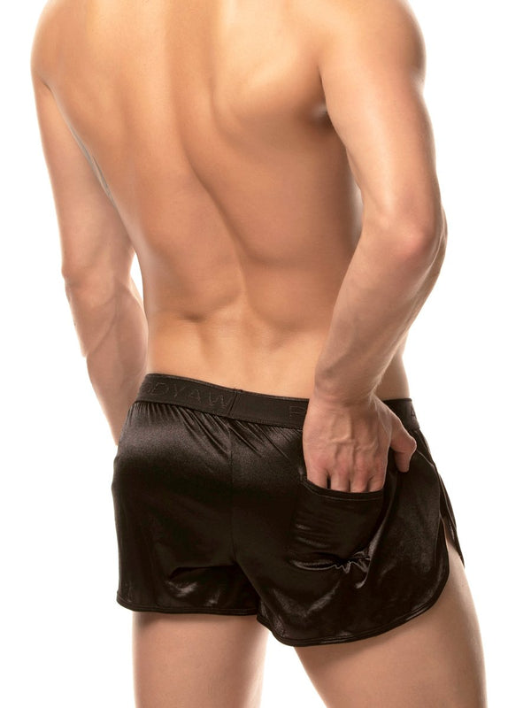 Sleek Satin Track Short