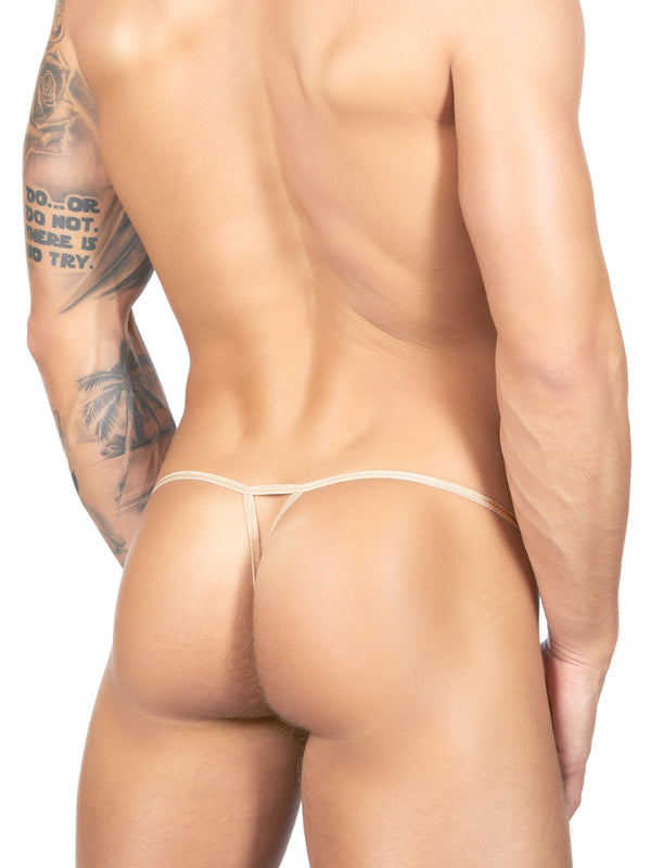 Men's nude g-string thong