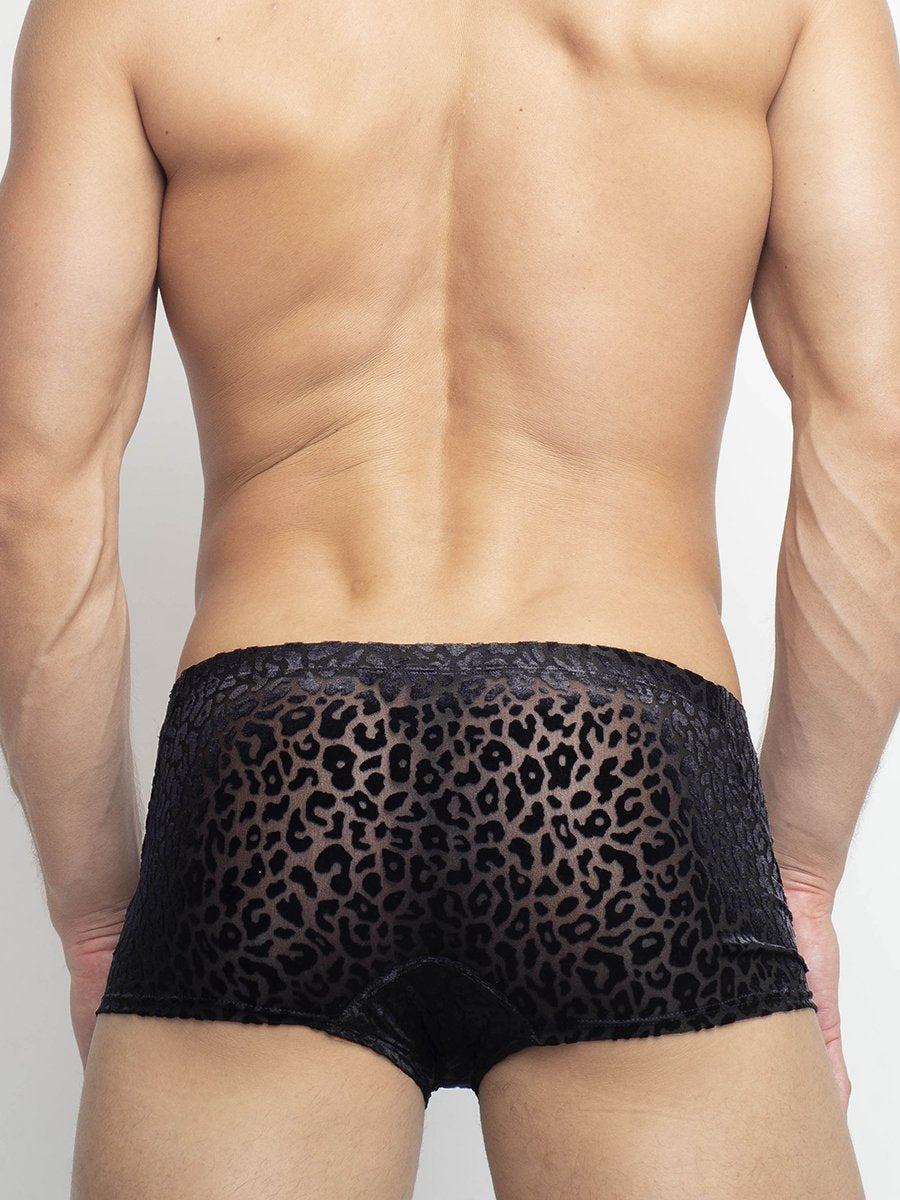 Men's Velvet Boxer Briefs
