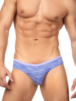 Men's Purple Designer Briefs