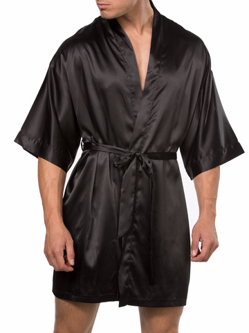 Smooth Satin Robe