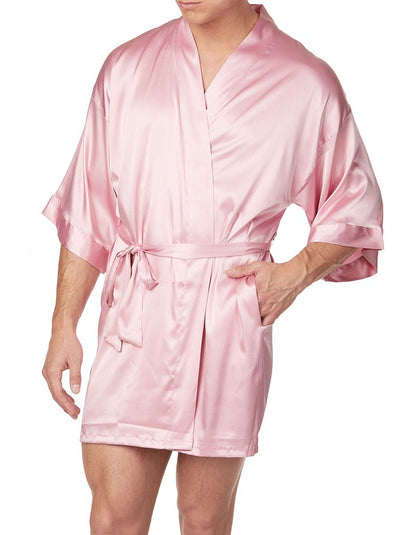 Men's Satin Robe