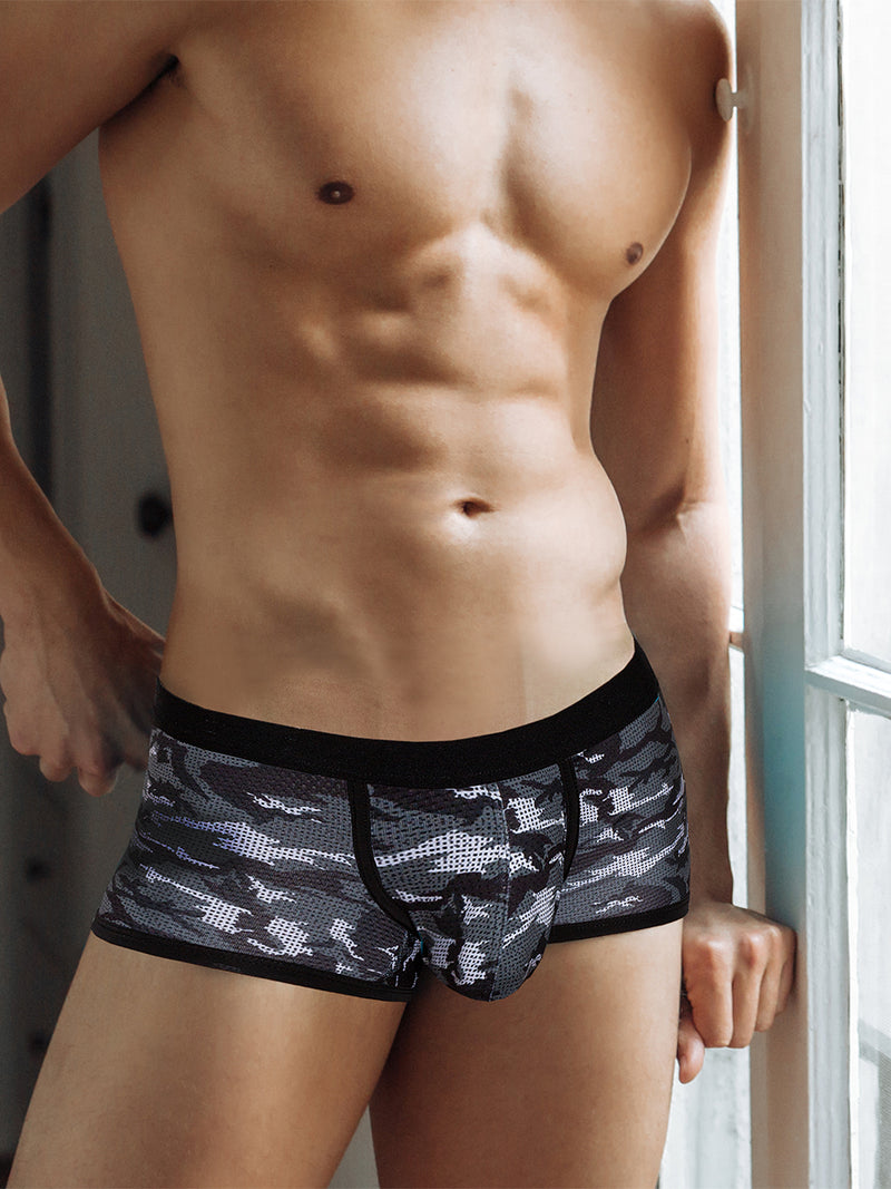 men's camouflage boxer briefs
