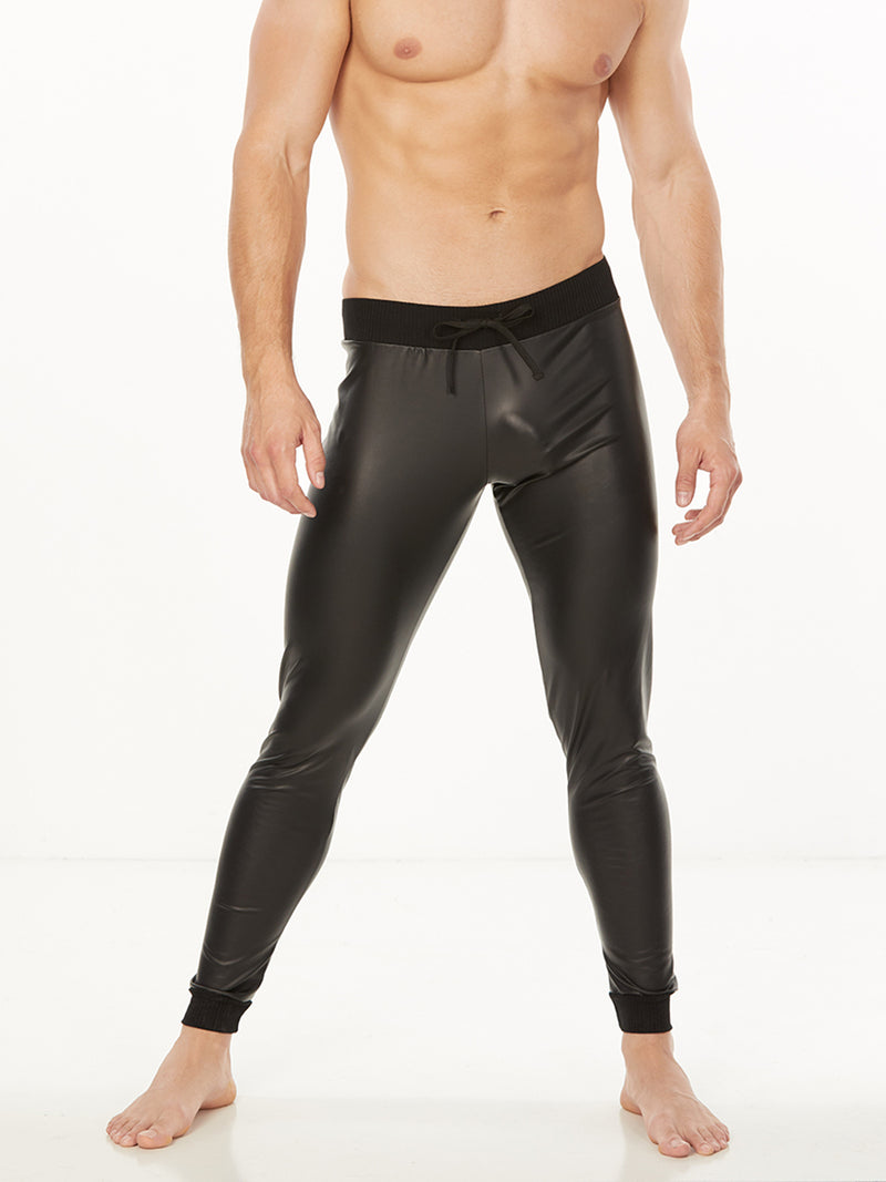 The Pleather Jogger