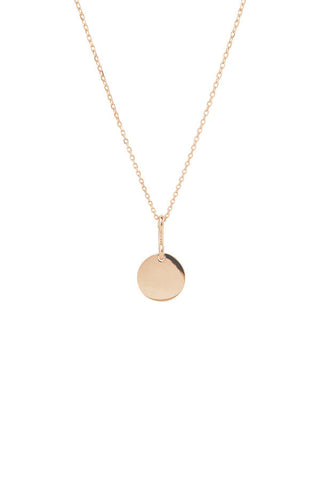 BELL NECKLACE 45 - ROSE GOLD