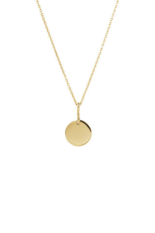 BELL NECKLACE 65 - HIGH POLISHED GOLD
