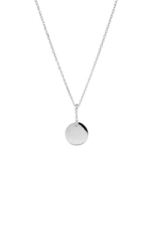 BELL NECKLACE 45 - SILVER