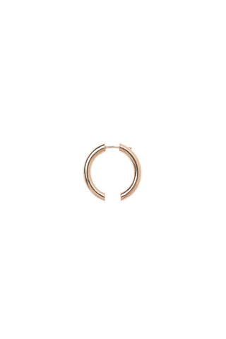 BROKEN 25 EARRING - ROSE GOLD