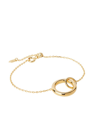 DOGMA BRACELET - HIGH POLISHED GOLD