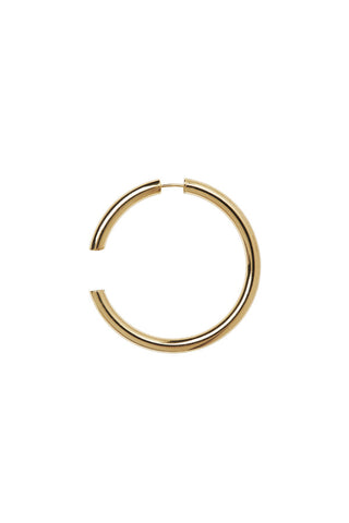 DISRUPTED 48 EARRING - HIGH POLISHED GOLD