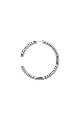 DISRUPTED 48 EARRING - SILVER