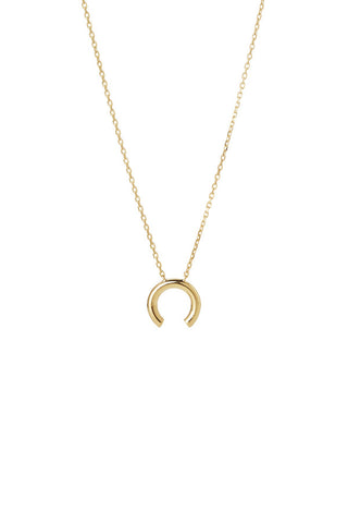 DISRUPTED NECKLACE - HIGH POLISHED GOLD