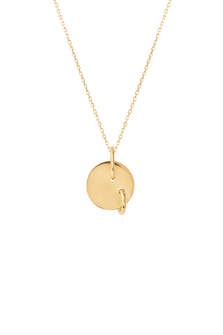 EDISON NECKLACE - HIGH POLISHED GOLD