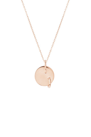 EDISON NECKLACE - ROSE GOLD