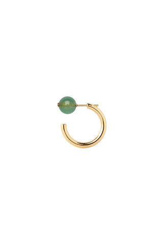 ELLY EARRING - GREEN QUARTZ