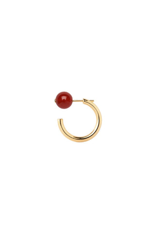 ELLY EARRING - RED CARNELIAN
