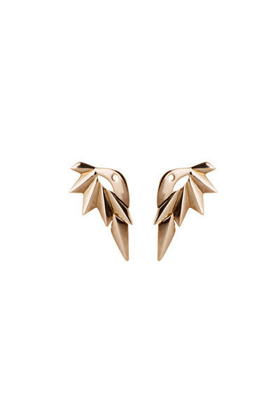 WING REVERSE EARRING - ROSE GOLD