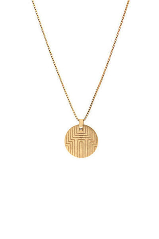 BOYO DIAMOND NECKLACE - GOLD
