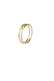 DOUBLE RING - HIGH POLISHED GOLD