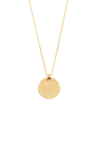 BOWIE VALENTINE NECKLACE - HIGH POLISHED GOLD