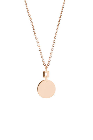 CAMILLE NECKLACE - ROSE GOLD