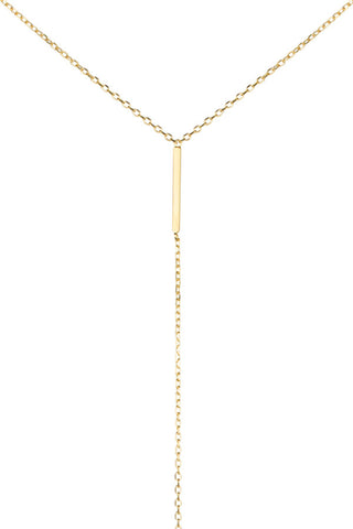 SANAE NECKLACE - HIGH POLISHED GOLD