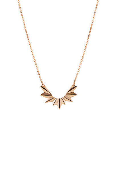 WING NECKLACE - ROSE GOLD