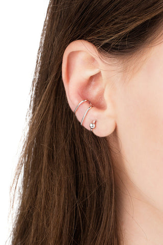 AURICLE EAR CUFF - SILVER