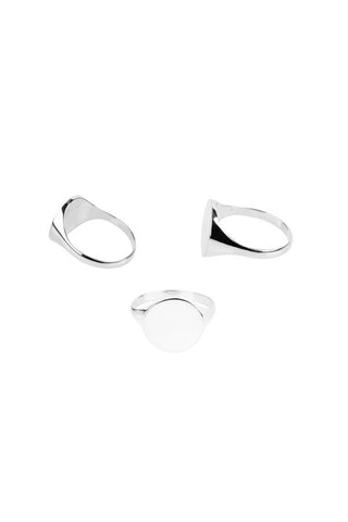 READY HEART RING - SILVER