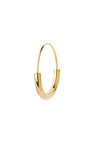SERENDIPITY HOOP SMALL EARRING - HIGH POLISHED GOLD