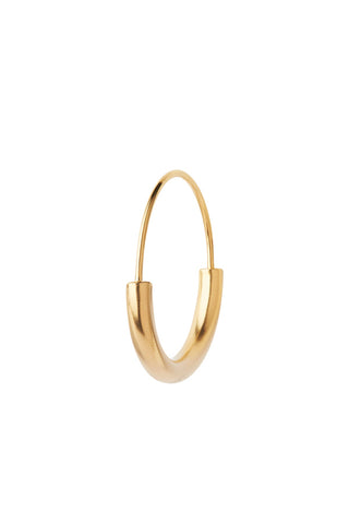 SERENDIPITY HOOP SMALL EARRING - GOLD