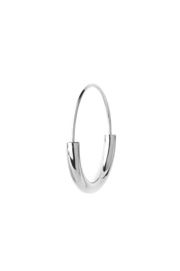 SERENDIPITY HOOP SMALL EARRING - SILVER