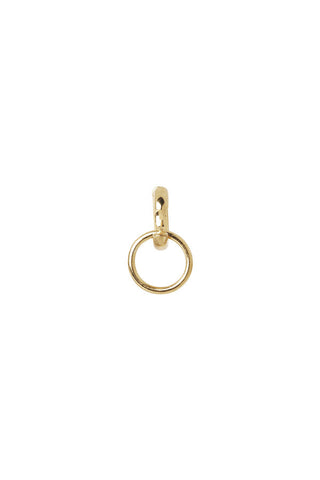 TWIN EARRING - HIGH POLISHED GOLD