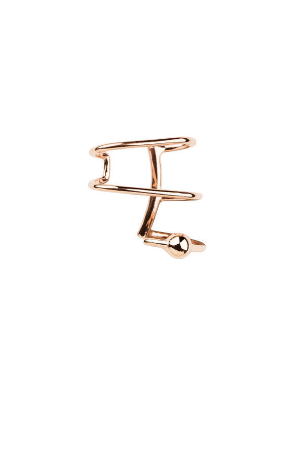AURICLE EAR CUFF - ROSE GOLD