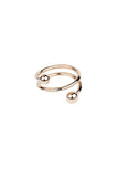 BODY SPIRAL RING - ROSE GOLD