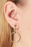 PHOENIX MEDI EARRING - HIGH POLISHED GOLD