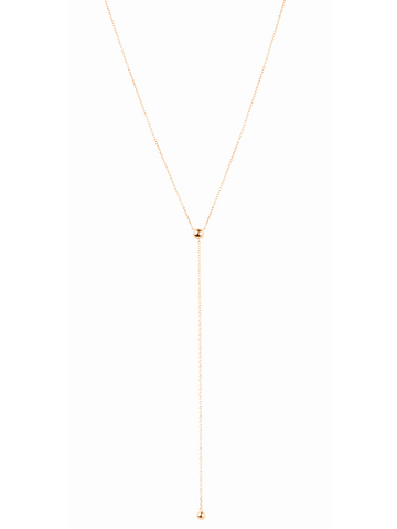HELIX NECKLACE - ROSE GOLD