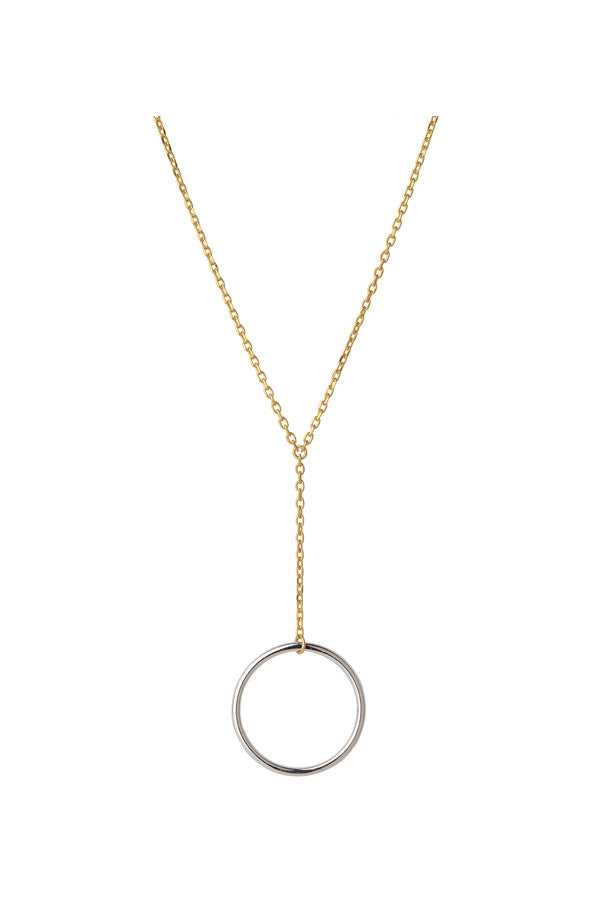 NORMA MINI NECKLACE - GOLD/SILVER