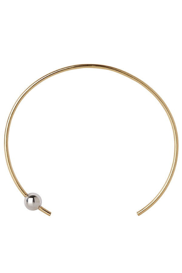 ORION CHOKER - GOLD/SILVER