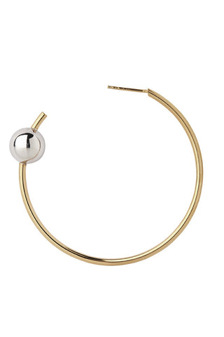 ORION MAXI HOOP EARRING - GOLD/SILVER