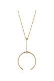 PHOENIX MEDI NECKLACE - HIGH POLISHED GOLD