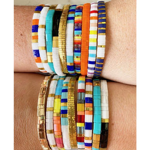 Color Wave Bracelets