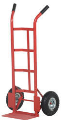 Vestil Ergo- Dual Handle Hand Trucks (Steel)