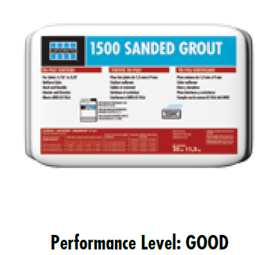 Laticrete 1500 sanded Grout 10 lb. Box