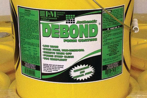 L&M CONCRETE DEBOND FORM COATING