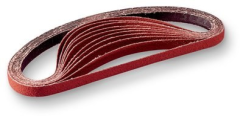3M(TM) Cloth Belt 241E, 1/2 in x 24 in 120 XE-weight, 50 per inner 200 per case