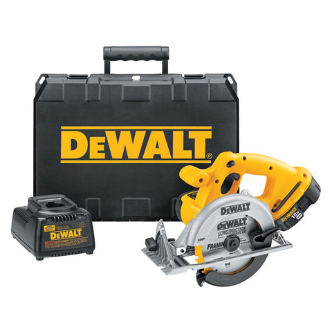 "6-1/2"" (165mm) 18V Cordless Circular Saw Kit - DC390K"